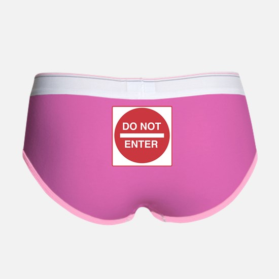 Do Not Enter Women's Boy Brief