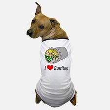 I heart burritos Dog T-Shirt