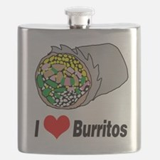 I heart burritos Flask