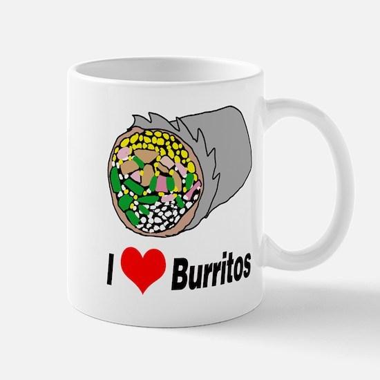 I heart burritos Mugs