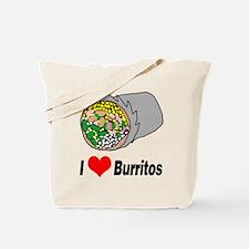 I heart burritos Tote Bag