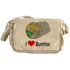 I heart burritos Messenger Bag