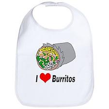 I heart burritos Bib