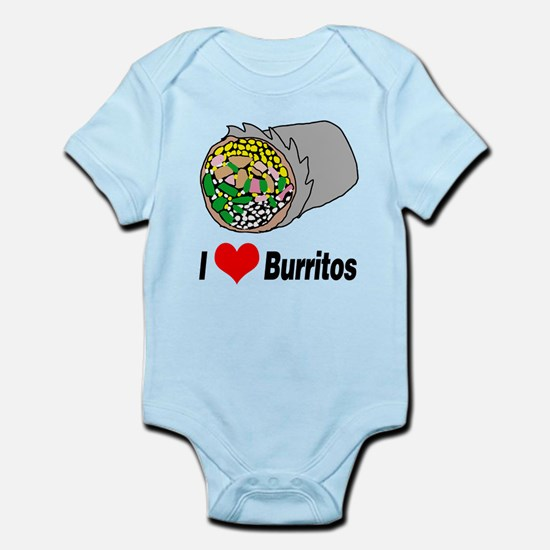 I heart burritos Body Suit