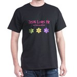 Jesus Loves Me Dark T-Shirt