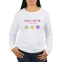 Jesus Loves Me Women's Long Sleeve T-Shirt