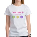 Jesus Loves Me Women's T-Shirt