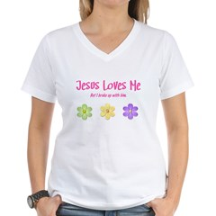 Jesus Loves Me Shirt