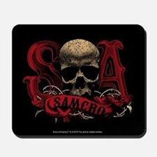 SAMCRO Skull Mousepad