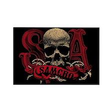 SAMCRO Skull Rectangle Magnet