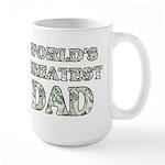 World's Greatest Dad - Money - Large Mug