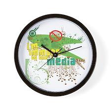 Media Immune Wall Clock
