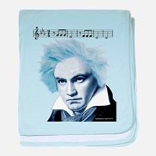 Beethoven 5th Symphony baby blanket