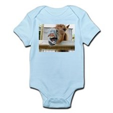 gag funny horse photo Body Suit