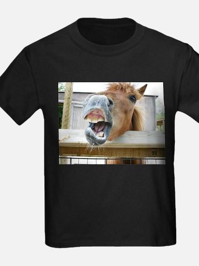 gag funny horse photo T-Shirt