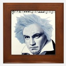 Beethoven 5th Symphony Framed Tile