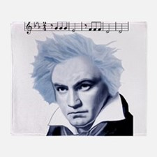 Beethoven 5th Symphony Throw Blanket