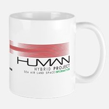 Cyberpunk Human Hybrid Project Black Mugs