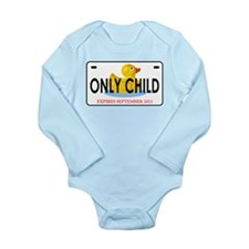 Cute Only child big brother Long Sleeve Infant Bodysuit