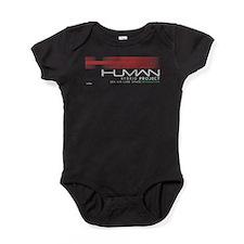Cyberpunk Human Hybrid Project White Baby Bodysuit