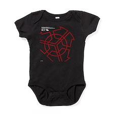 Cyberpunk Personal Brain White Baby Bodysuit
