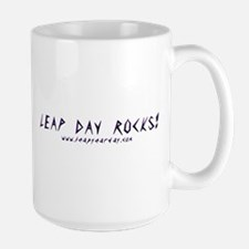 Leap Day Rocks! Mugs