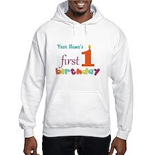 First Birthday - Pe... Hoodie
