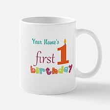 First Birthday - Pe... Mugs