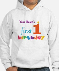First Birthday - Personalized Hoodie