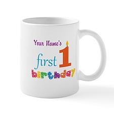 First Birthday - Personalized Mug