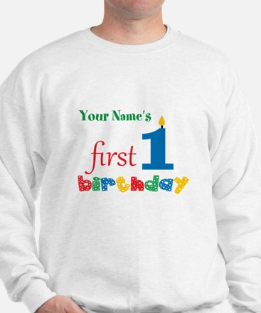 First Birthday - Personalized Jumper