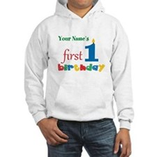 First Birthday - Personalized Jumper Hoody
