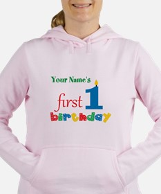 First Birthday - Persona Women's Hooded Sweatshirt