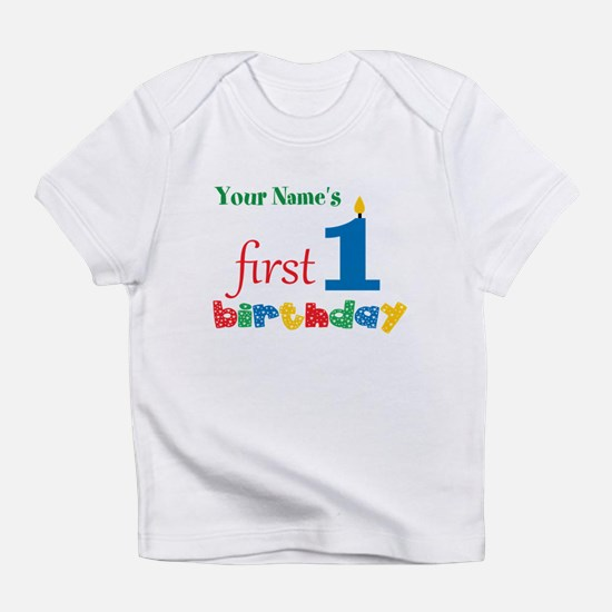 First Birthday - Personalized Infant T-Shirt