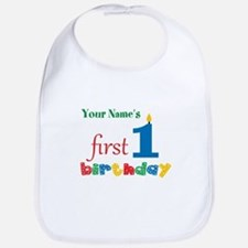 First Birthday - Personalized Bib