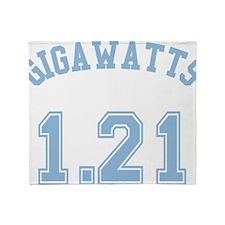 1.21 Gigawatts Throw Blanket