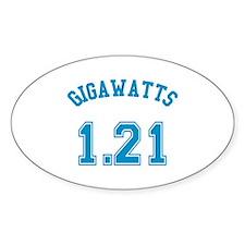 1.21 Gigawatts Decal
