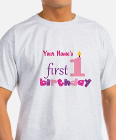 First Birthday - Personalized T-Shirt