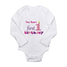 First Birthday - Perso Onesie Romper Suit