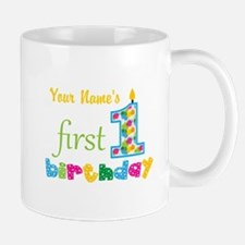 First Birthday - Personalized Mug