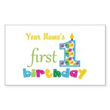 First Birthday - Persona Decal