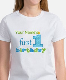 First Birthday - Personalized Tee