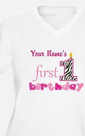 First Birthday - T-Shirt