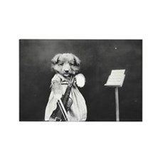 Cute Cello christmas Rectangle Magnet
