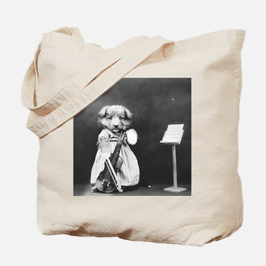 Cute Music cello Tote Bag