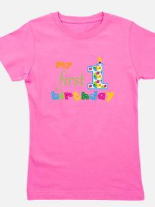 My First Birthday Girl's Tee