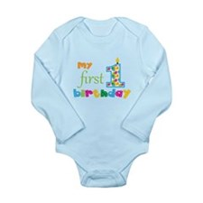My First Birthday Onesie Romper Suit