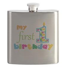 My First Birthday Flask