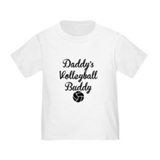 Daddys Volleyball Buddy T-Shirt