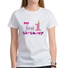 My First Birthday Tee